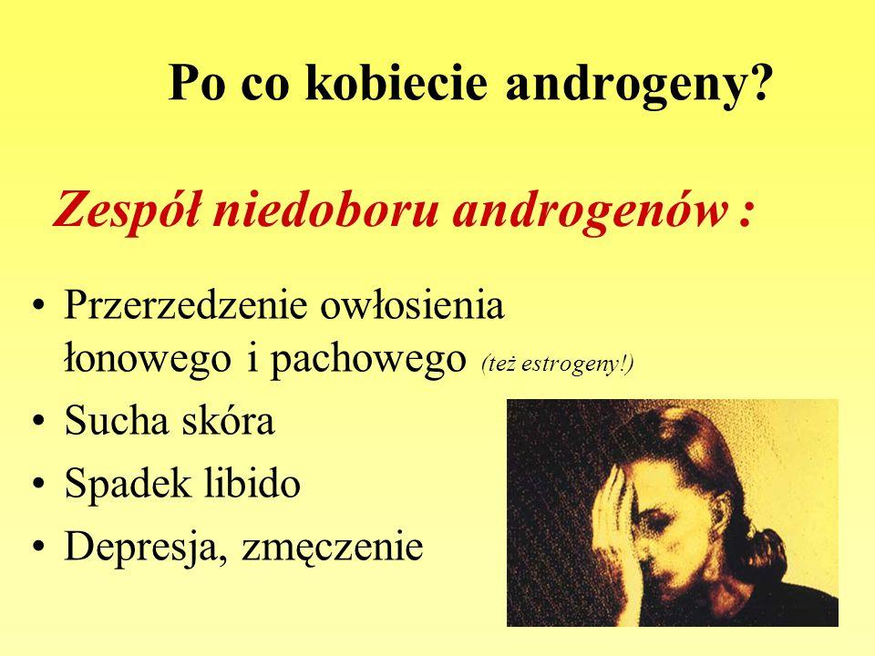 Po co kobiecie androgeny