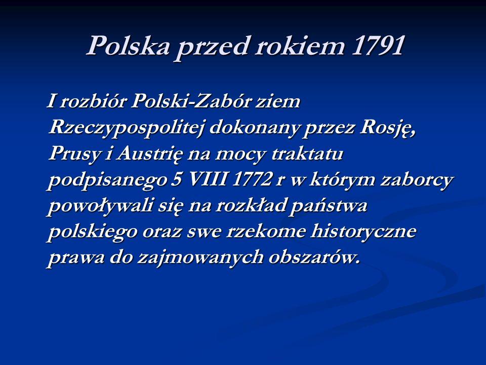 Polska przed rokiem 1791