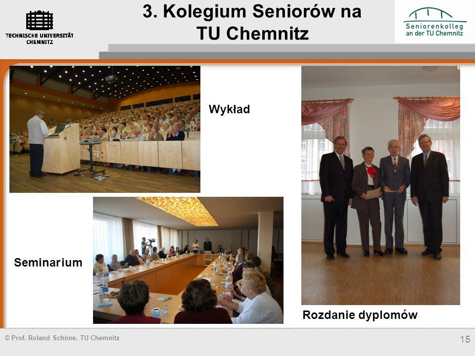 3. Kolegium Seniorów na TU Chemnitz