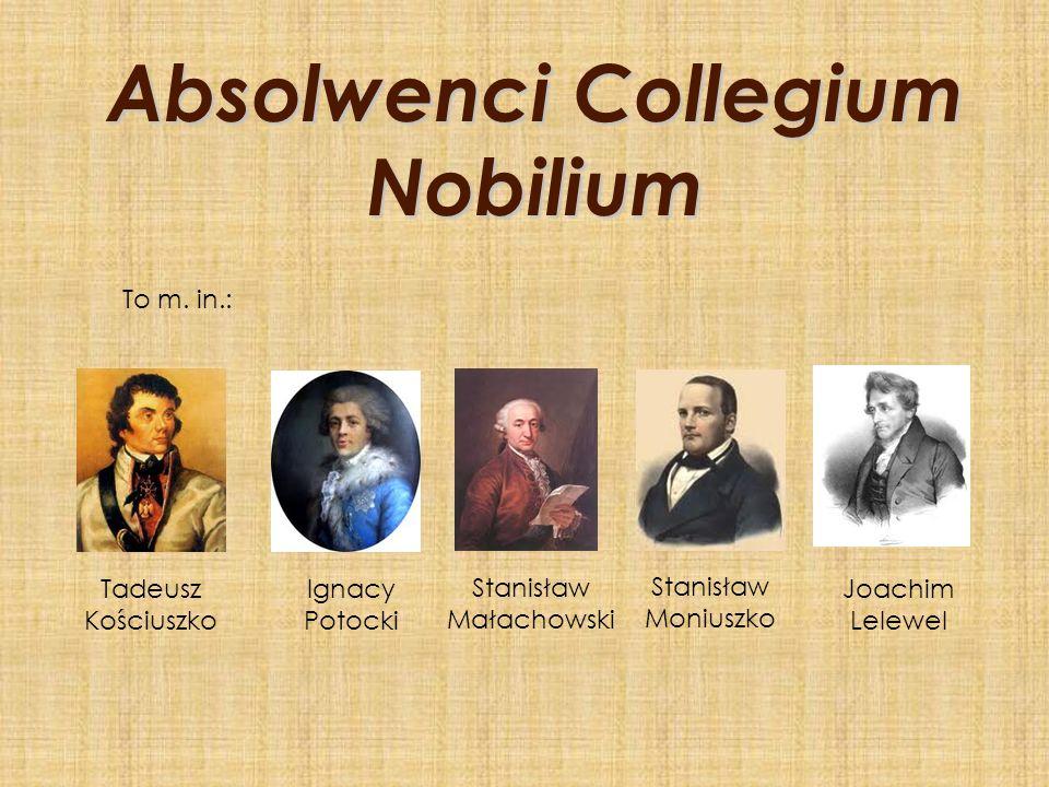 Absolwenci Collegium Nobilium