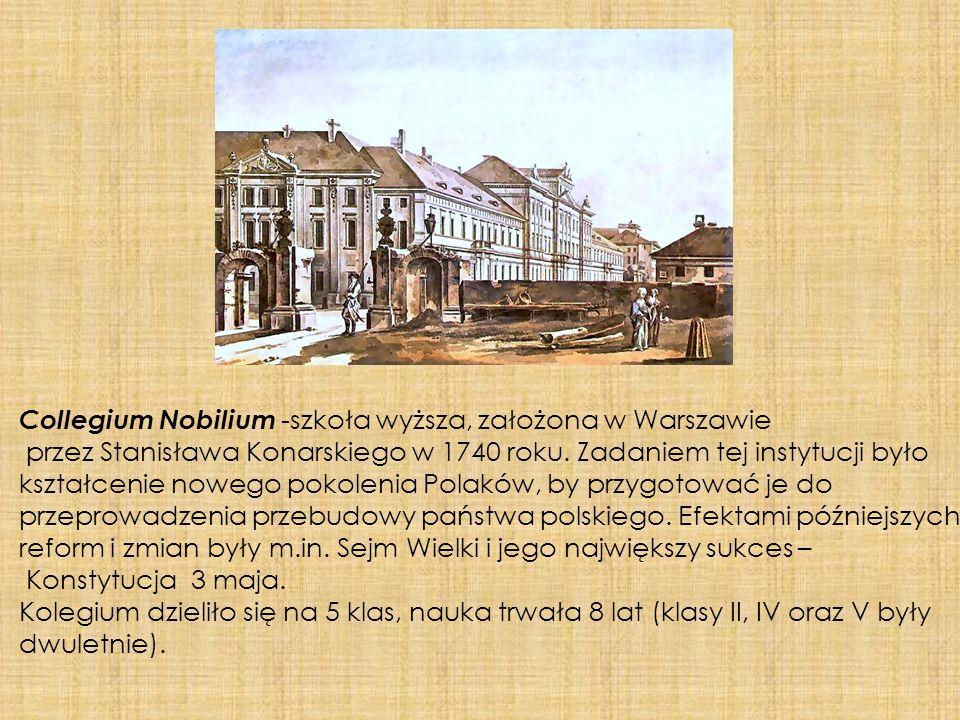 Collegium Nobilium -szkoła wyższa, założona w Warszawie