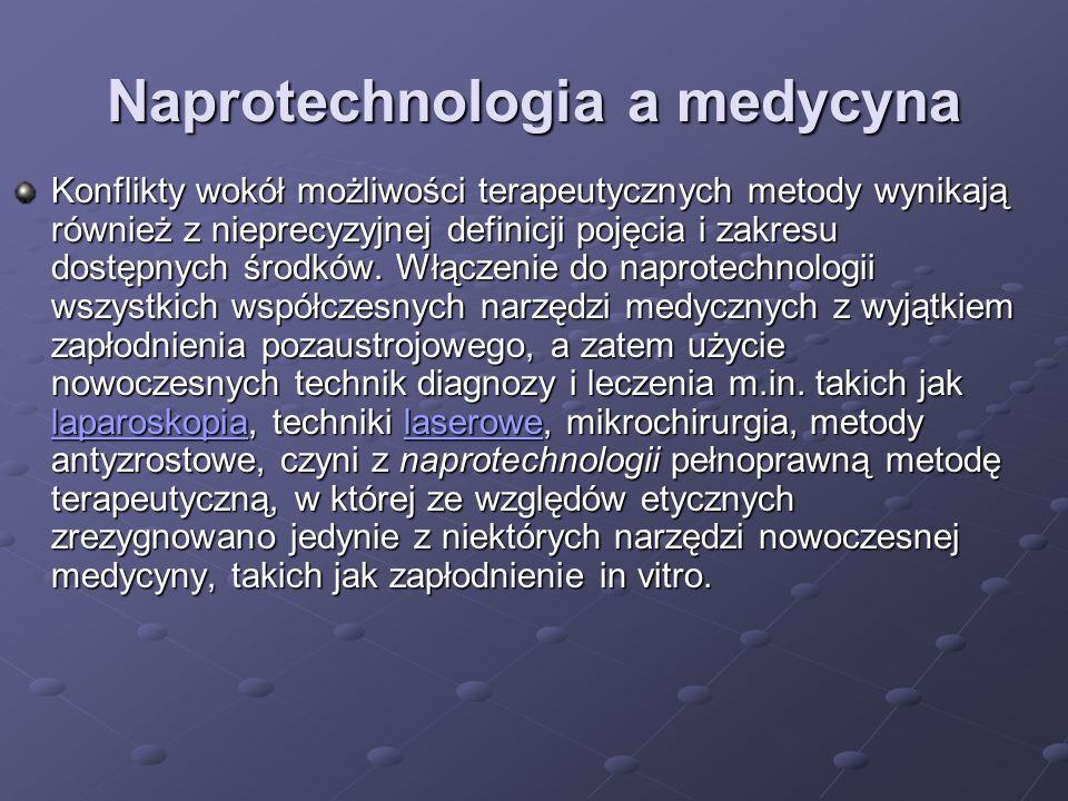 Naprotechnologia a medycyna