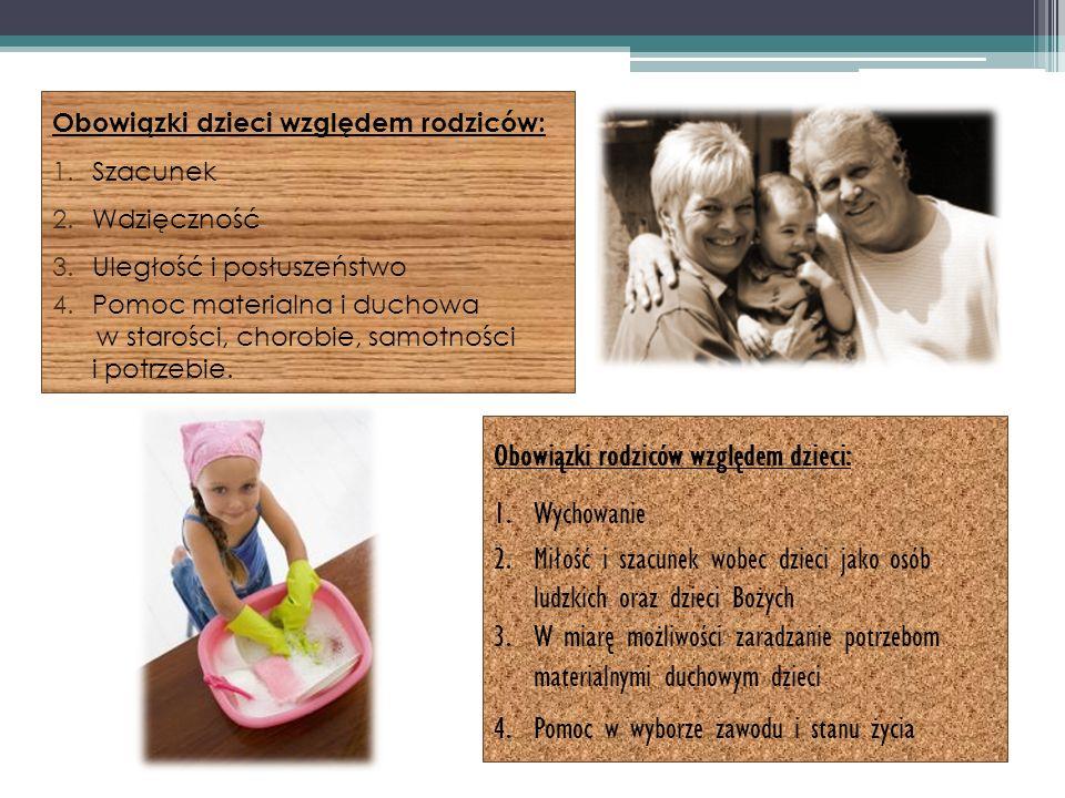 Obowiązki rodziców względem dzieci: Wychowanie