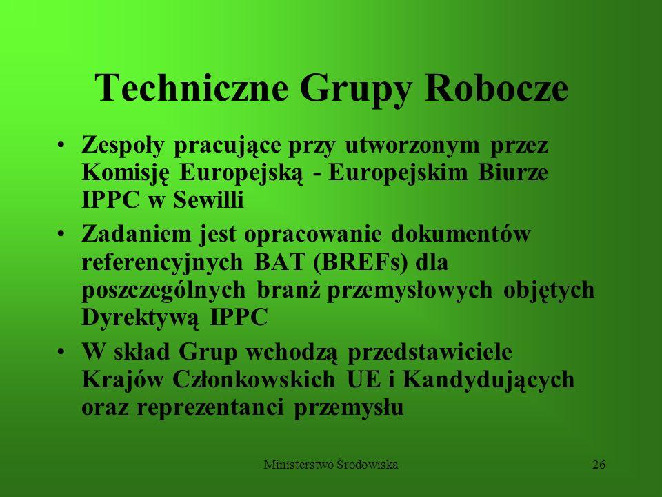 Techniczne Grupy Robocze