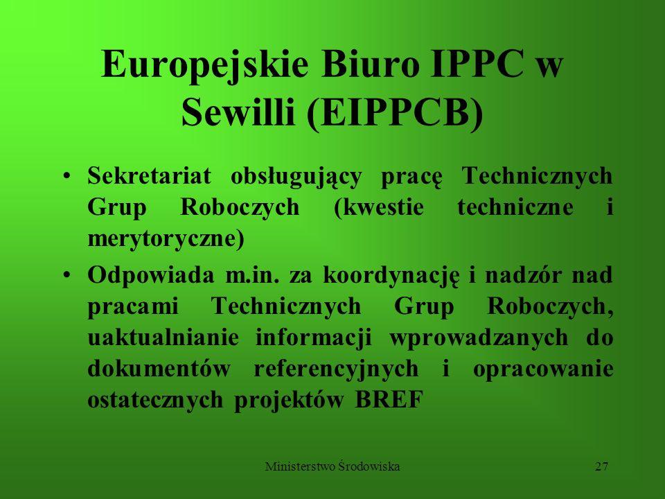 Europejskie Biuro IPPC w Sewilli (EIPPCB)