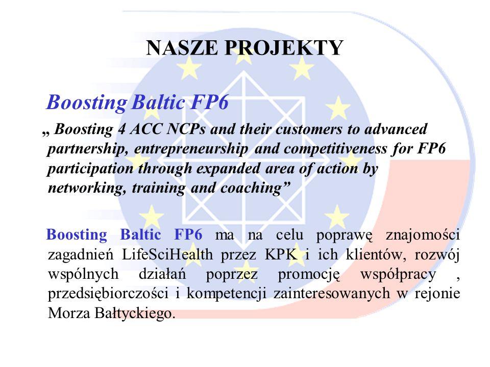 NASZE PROJEKTY Boosting Baltic FP6