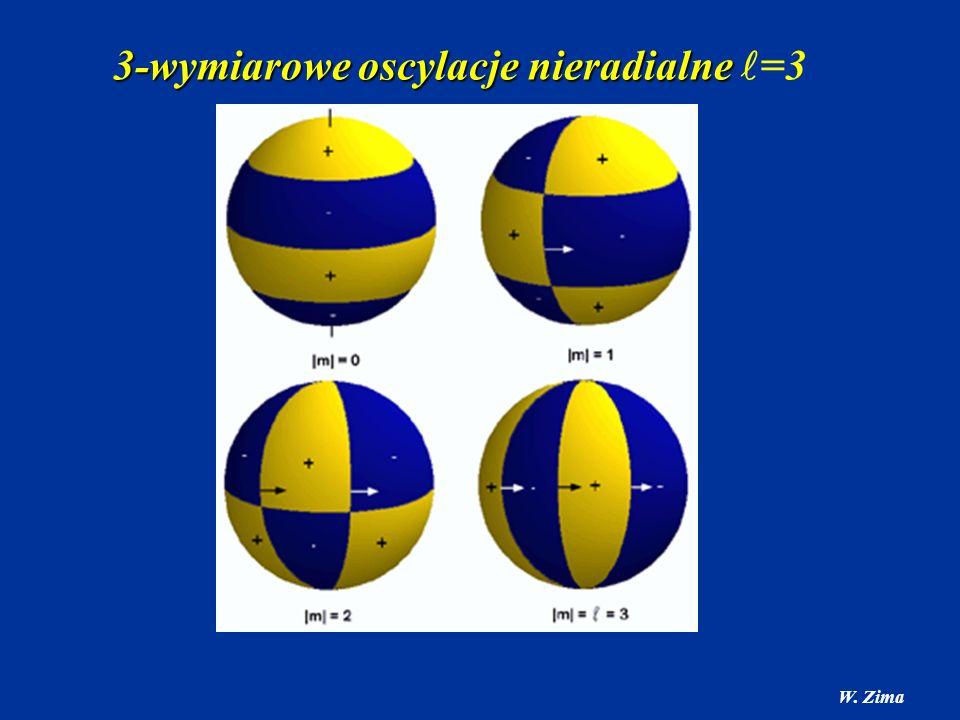 3-wymiarowe oscylacje nieradialne =3