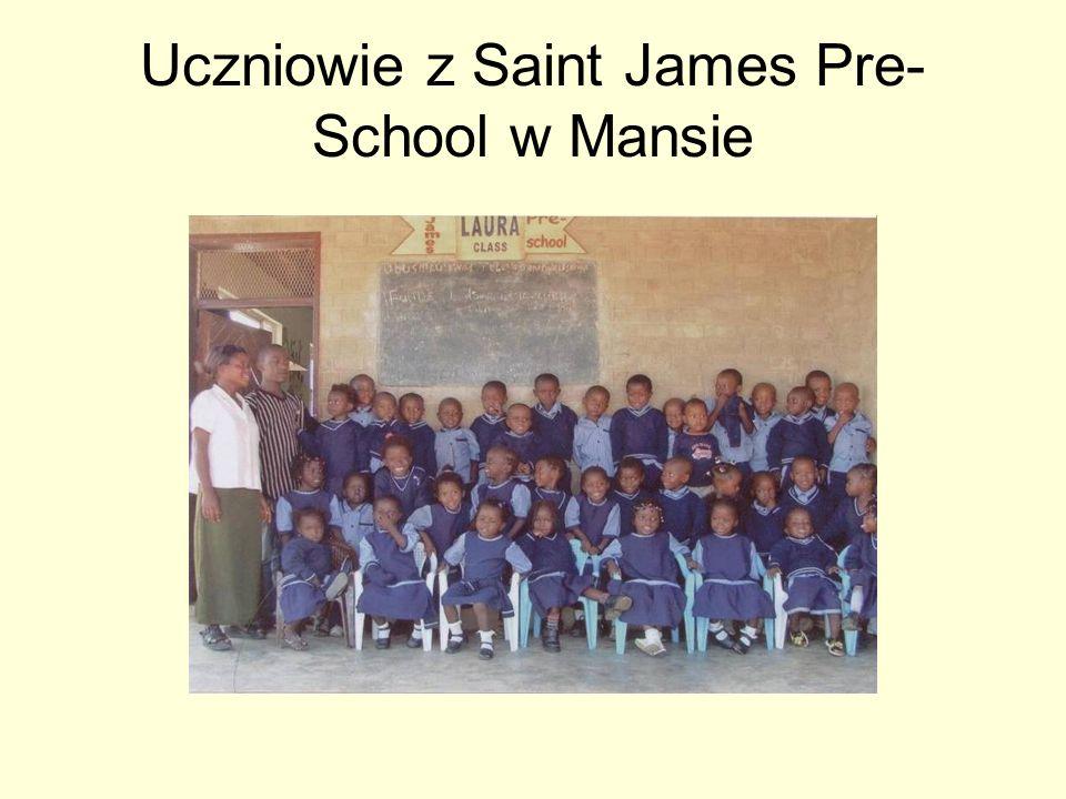 Uczniowie z Saint James Pre-School w Mansie