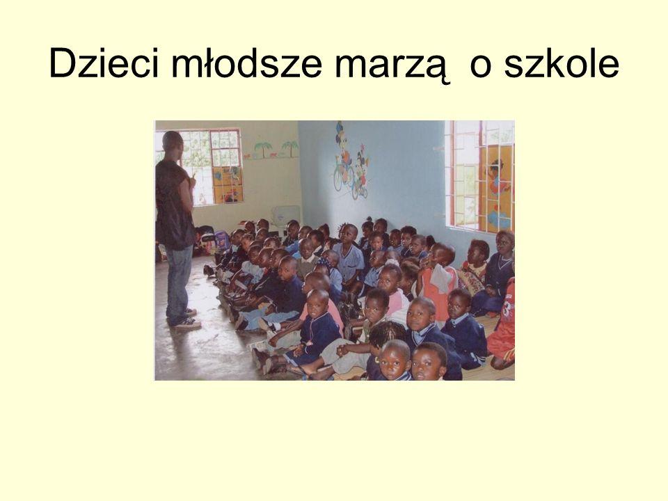 Dzieci młodsze marzą o szkole