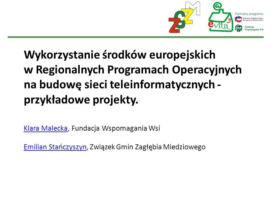 Wykorzystanie środków europejskich