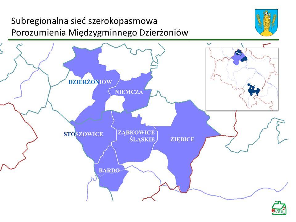 Subregionalna sieć szerokopasmowa Porozumienia Międzygminnego Dzierżoniów