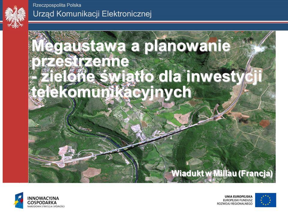 Megaustawa a planowanie przestrzenne - zielone światło dla inwestycji telekomunikacyjnych