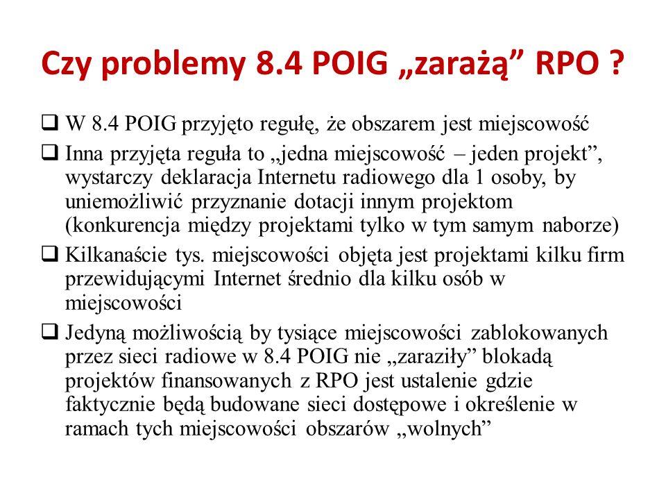 """Czy problemy 8.4 POIG """"zarażą RPO"""