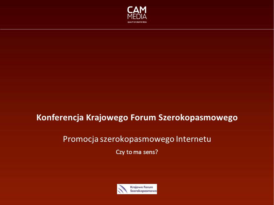 Konferencja Krajowego Forum Szerokopasmowego