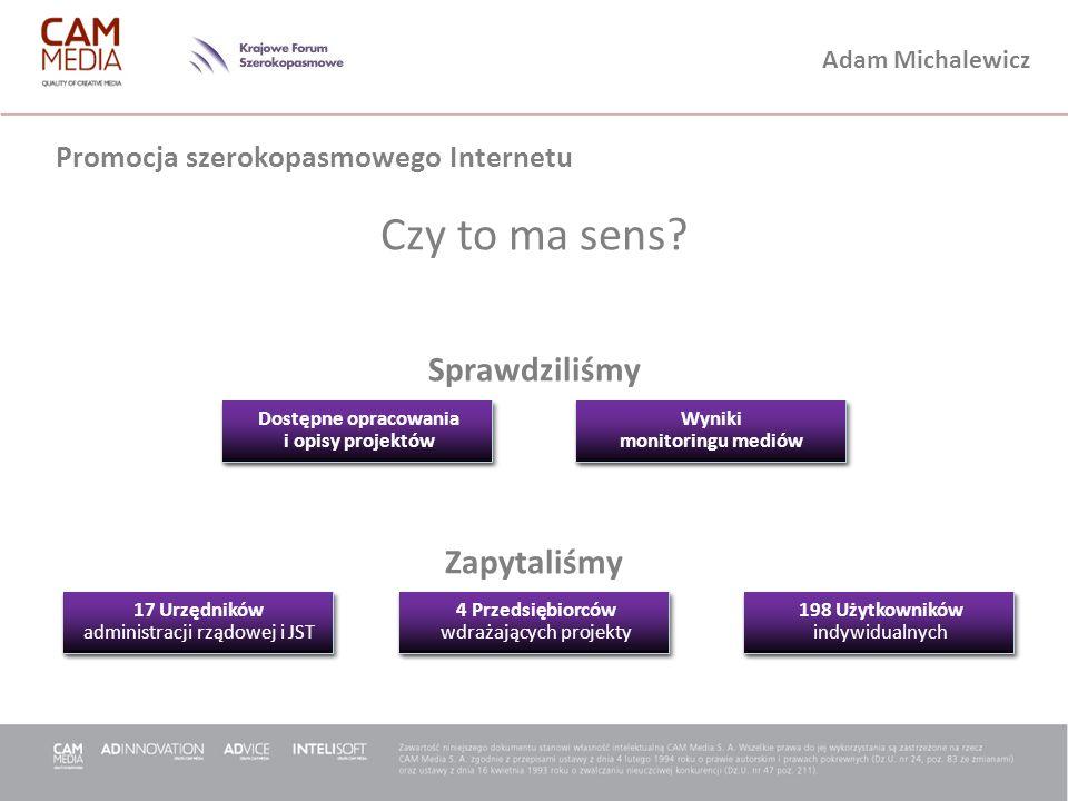 Promocja szerokopasmowego Internetu