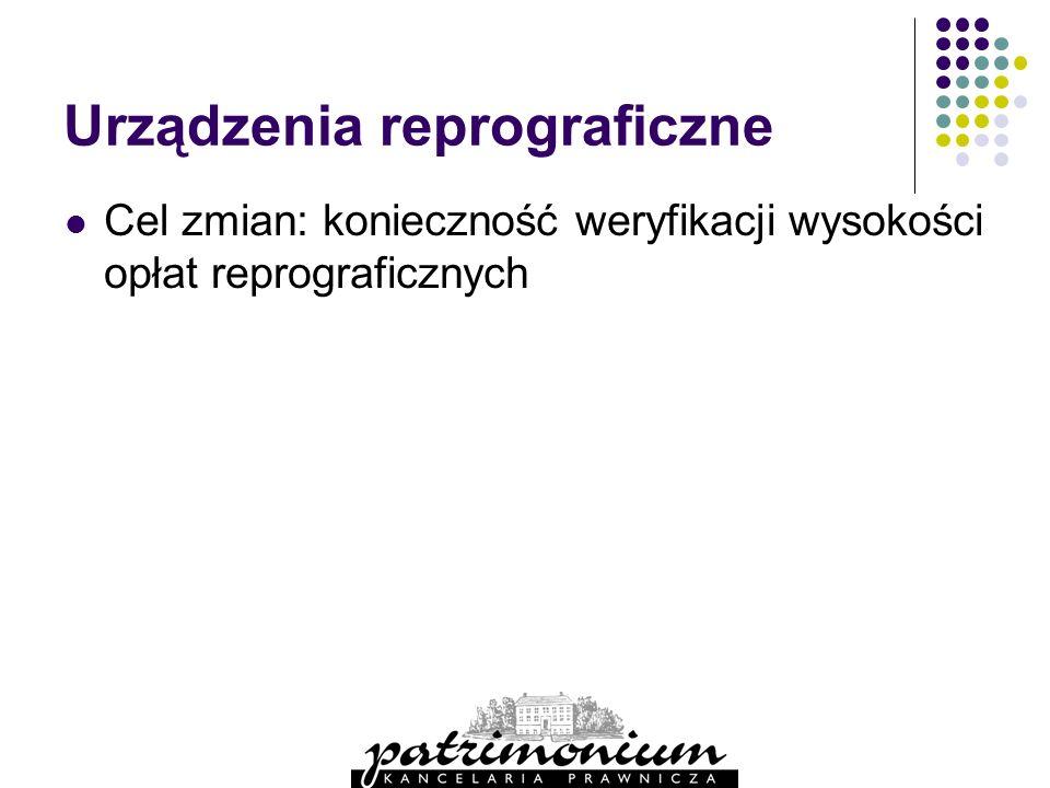 Urządzenia reprograficzne