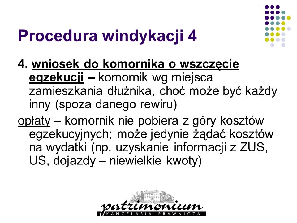 Procedura windykacji 4