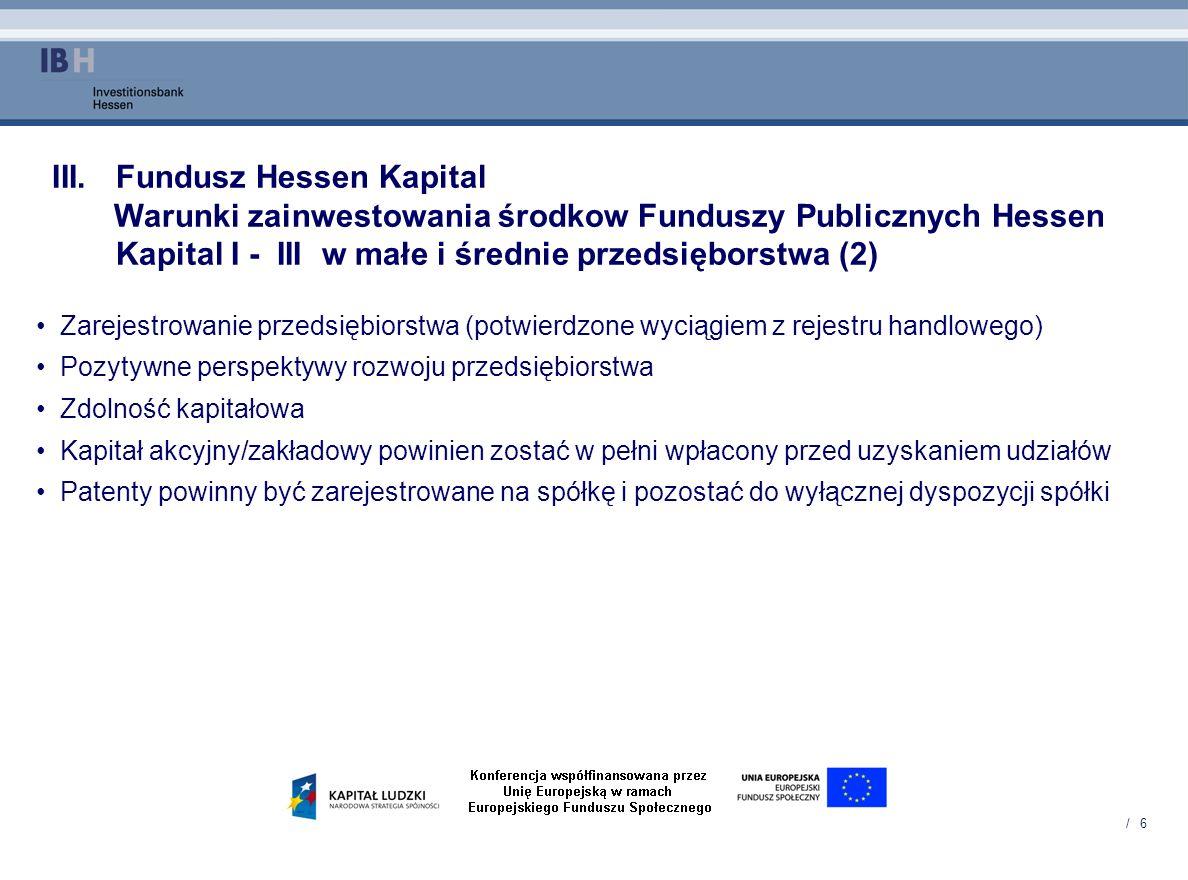 Fundusz Hessen Kapital
