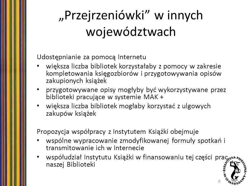 """""""Przejrzeniówki w innych województwach"""