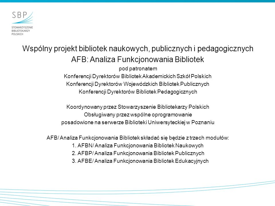 Wspólny projekt bibliotek naukowych, publicznych i pedagogicznych
