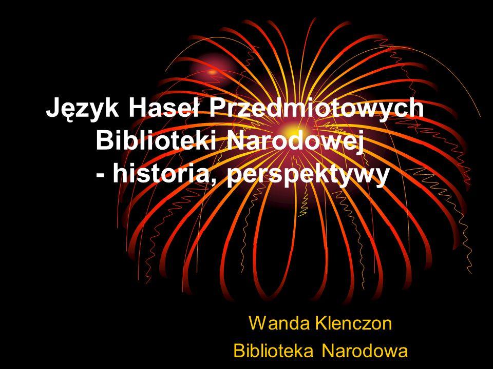 Wanda Klenczon Biblioteka Narodowa