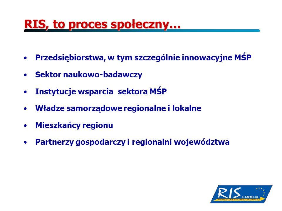 RIS, to proces społeczny…