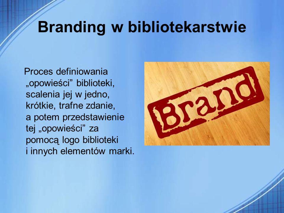 Branding w bibliotekarstwie
