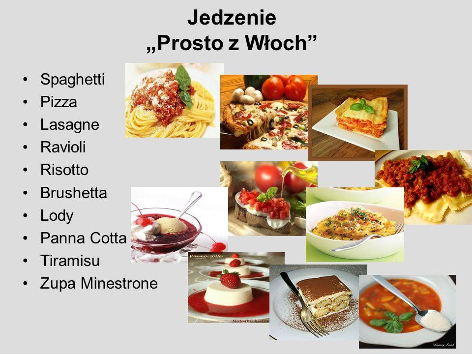 """Jedzenie """"Prosto z Włoch"""