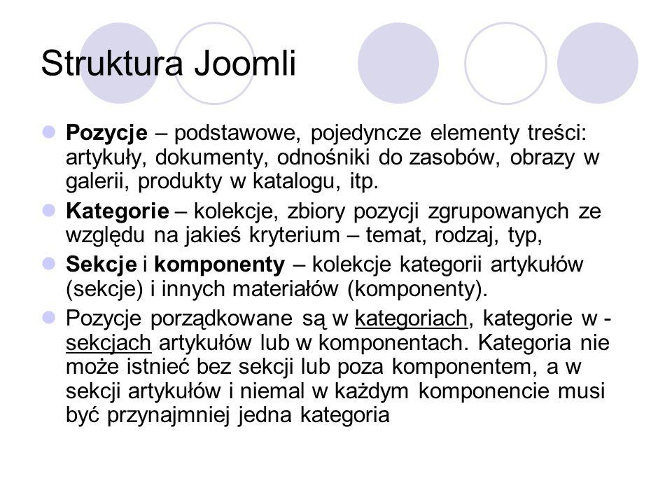 Struktura Joomli