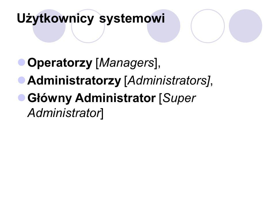 Użytkownicy systemowi