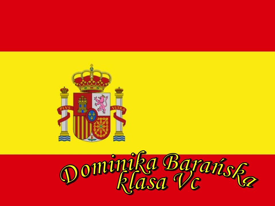 Hiszpania Dominika Barańska klasa Vc
