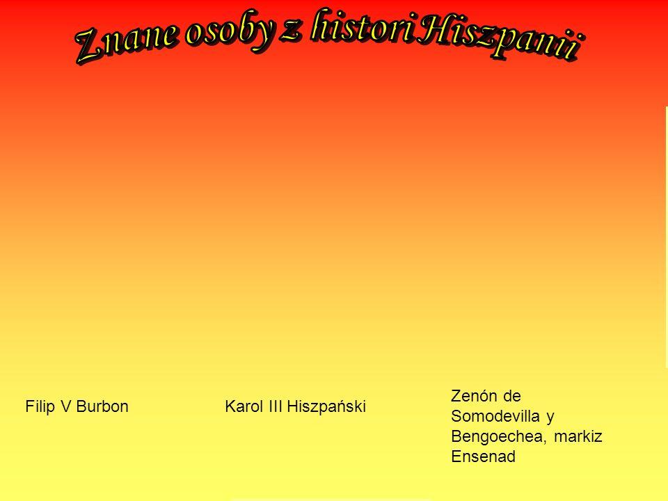 Znane osoby z histori Hiszpanii