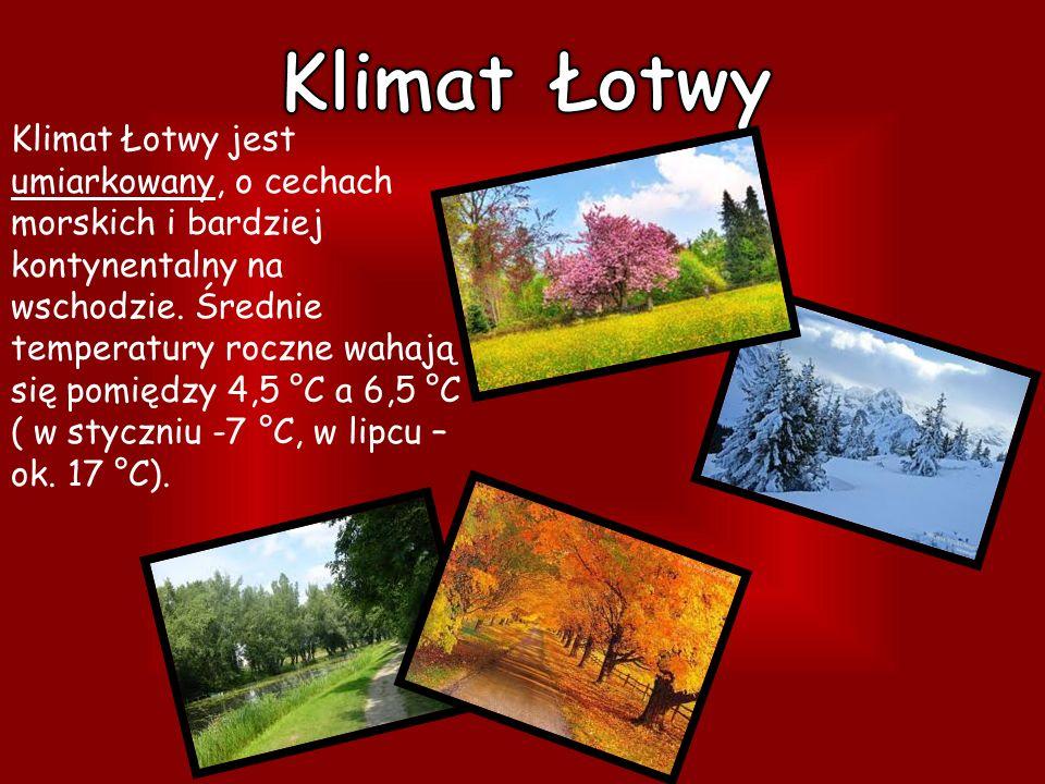 Klimat Łotwy