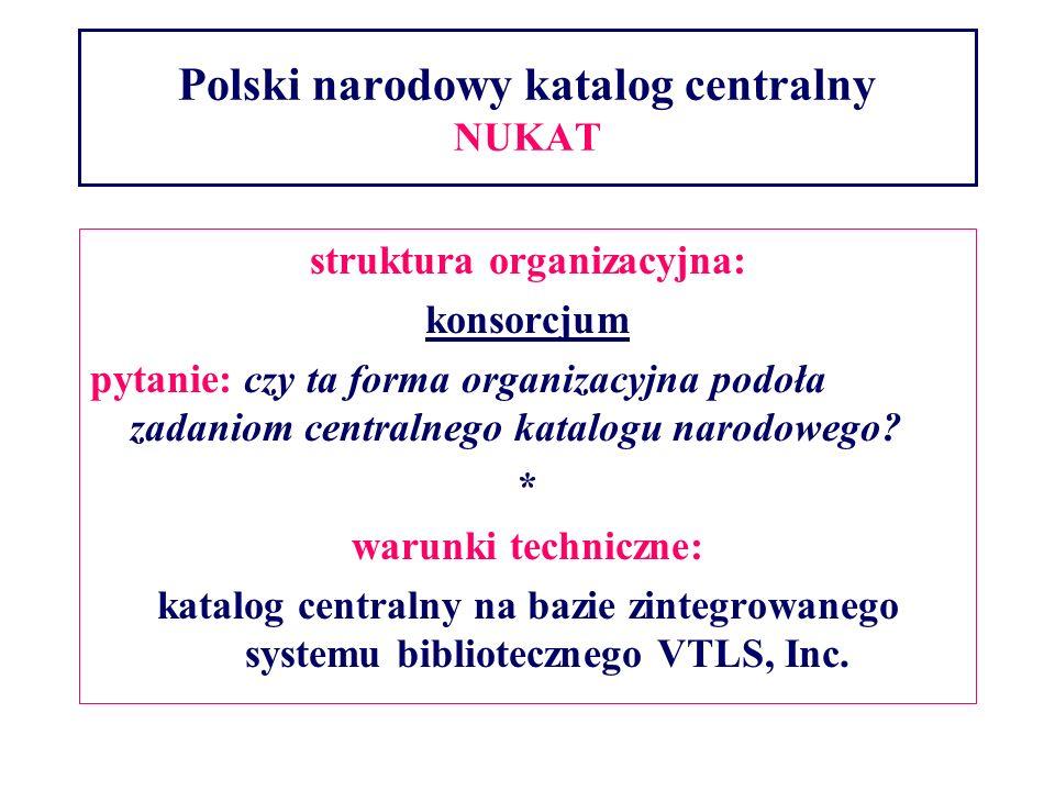 Polski narodowy katalog centralny NUKAT