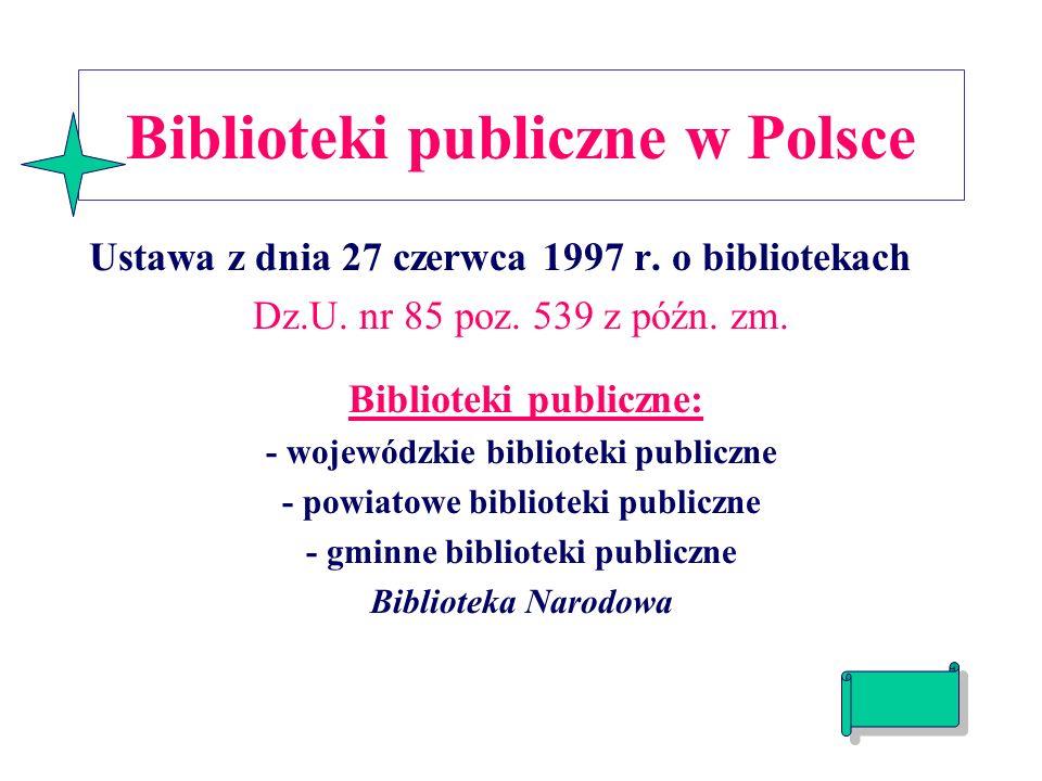 Biblioteki publiczne w Polsce