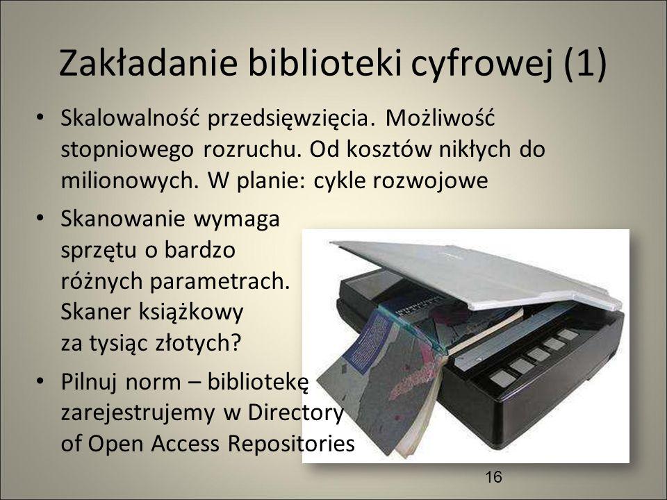 Zakładanie biblioteki cyfrowej (1)