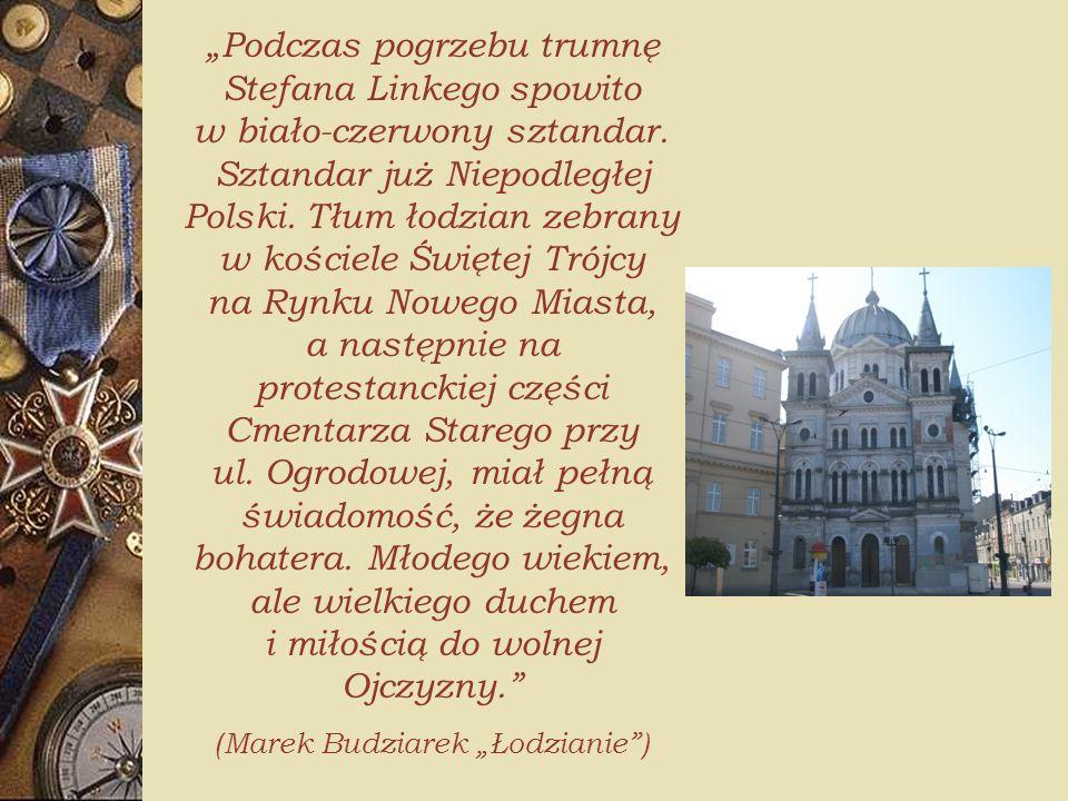 """(Marek Budziarek """"Łodzianie )"""