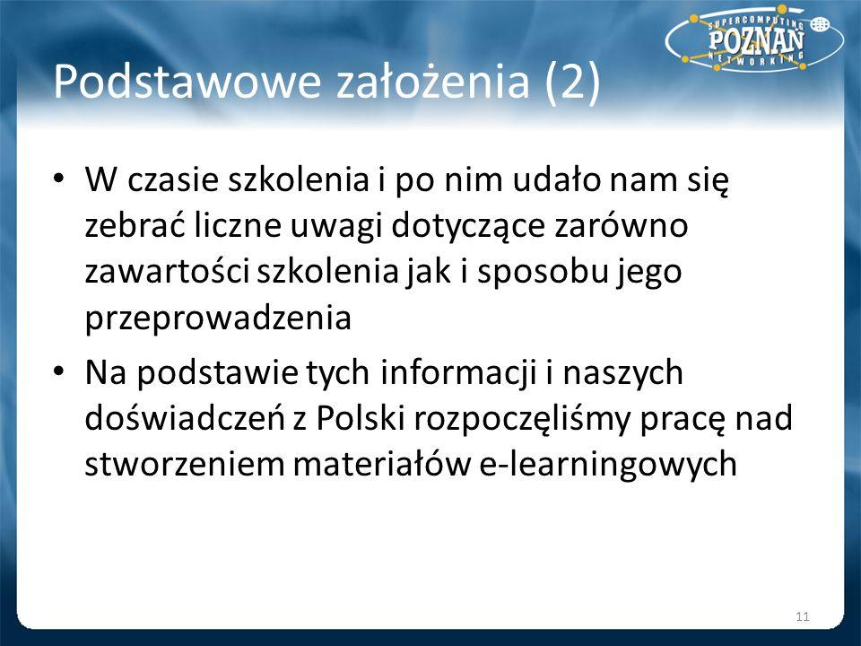 Podstawowe założenia (2)