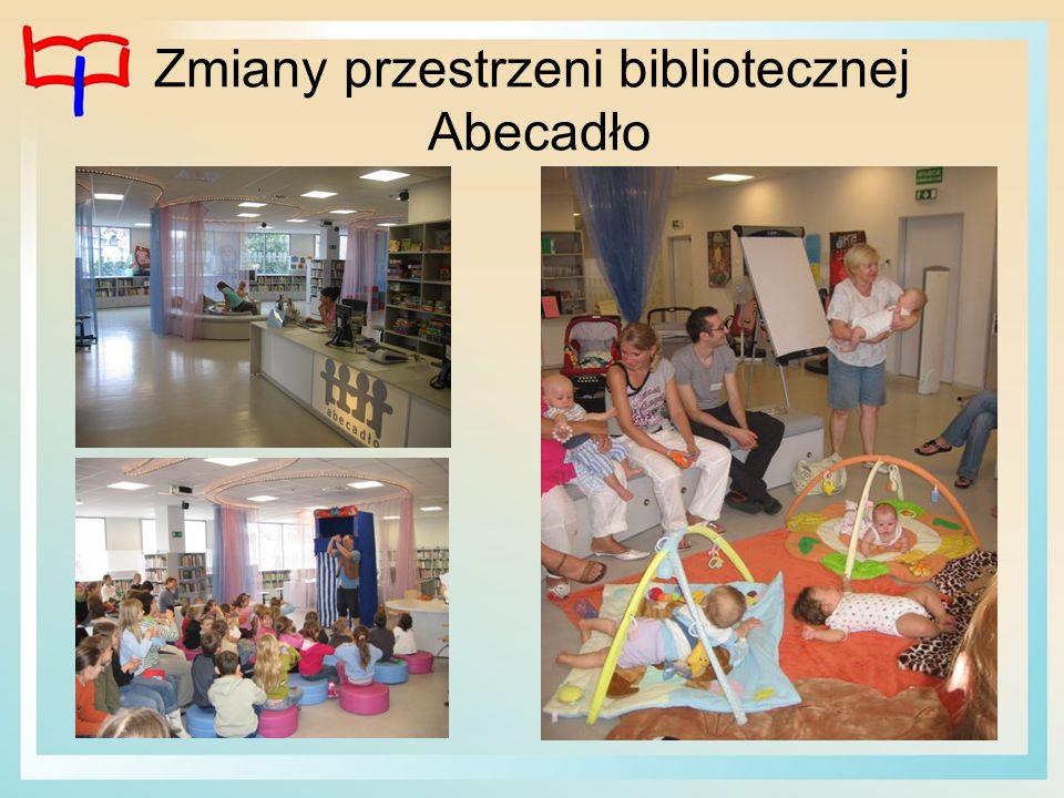 Zmiany przestrzeni bibliotecznej Abecadło