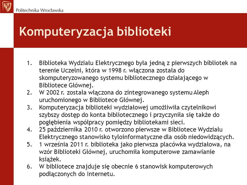 Komputeryzacja biblioteki