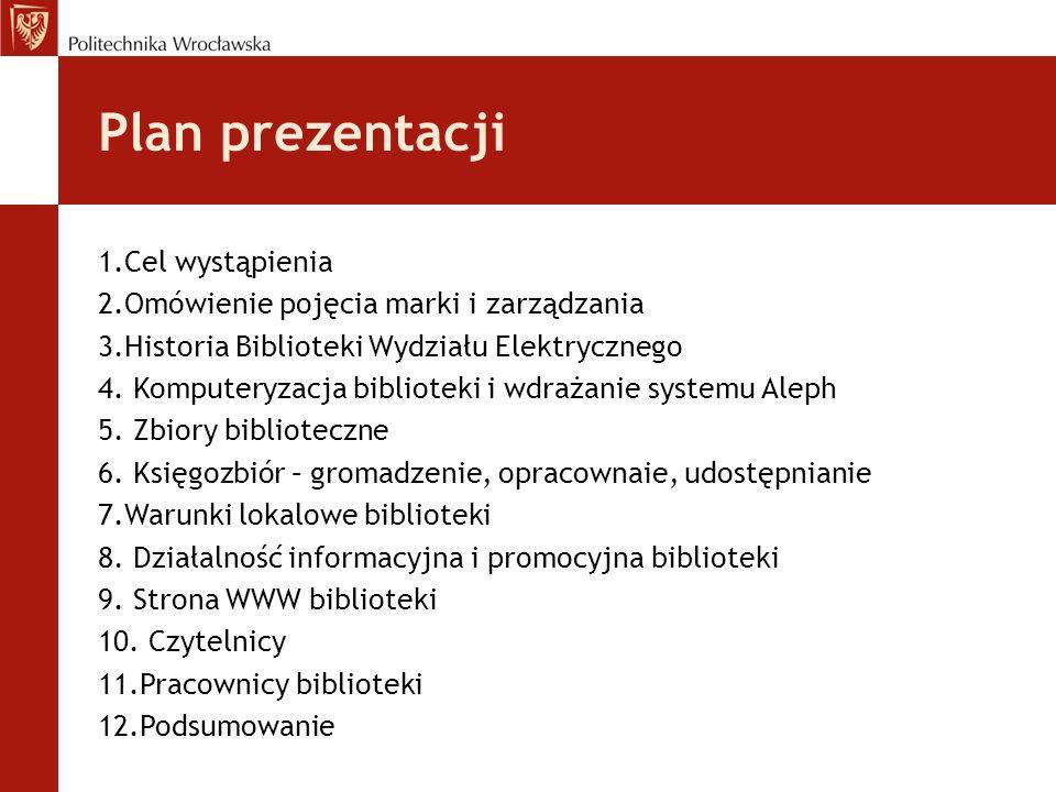 Plan prezentacji 1.Cel wystąpienia
