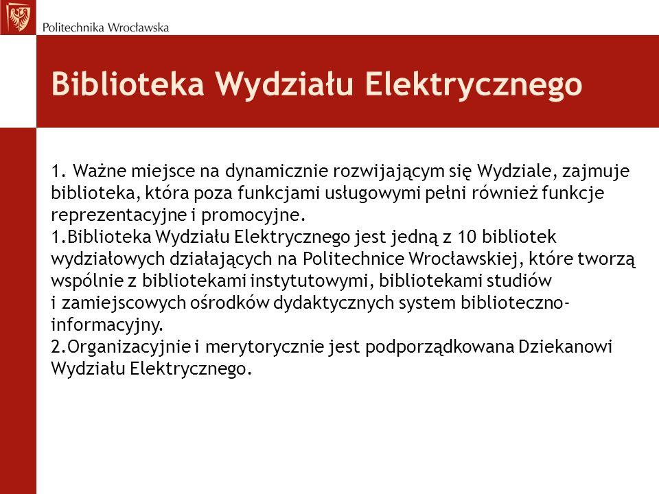 Biblioteka Wydziału Elektrycznego