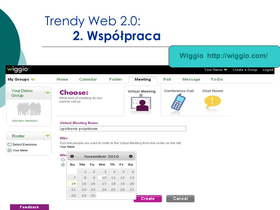 Trendy Web 2.0: 2. Współpraca