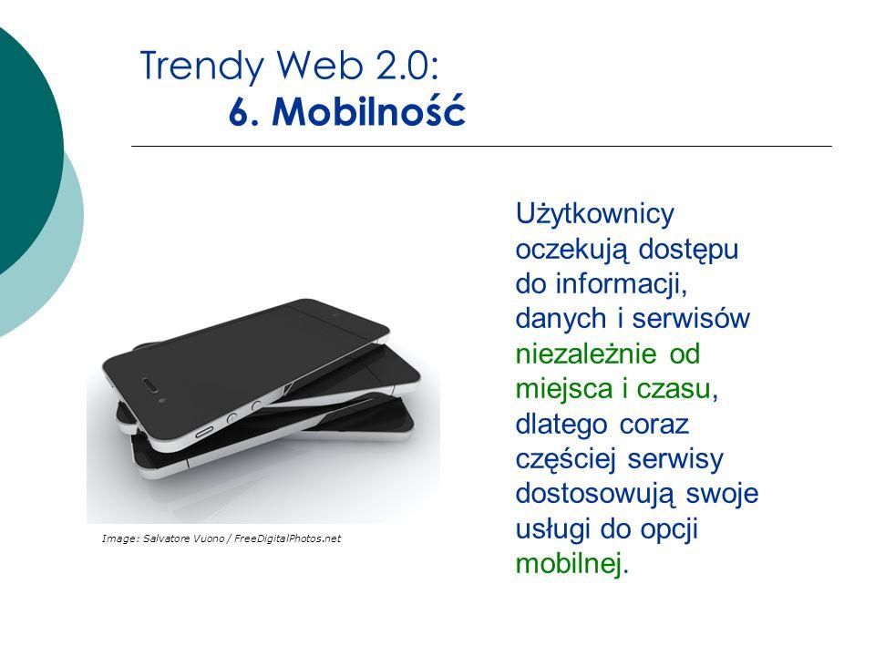 Trendy Web 2.0: 6. Mobilność