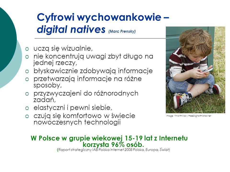 Cyfrowi wychowankowie – digital natives (Marc Prensky)