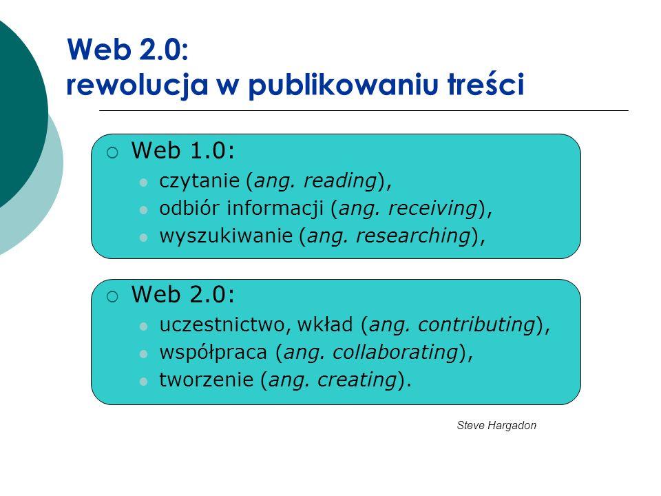 Web 2.0: rewolucja w publikowaniu treści