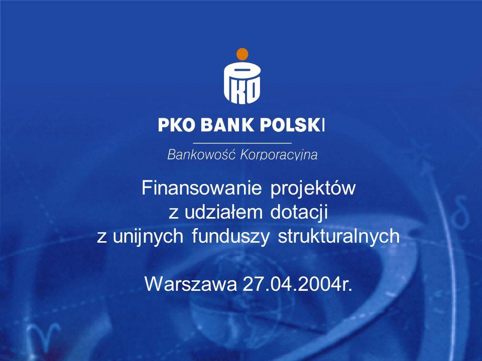 Finansowanie projektów z udziałem dotacji