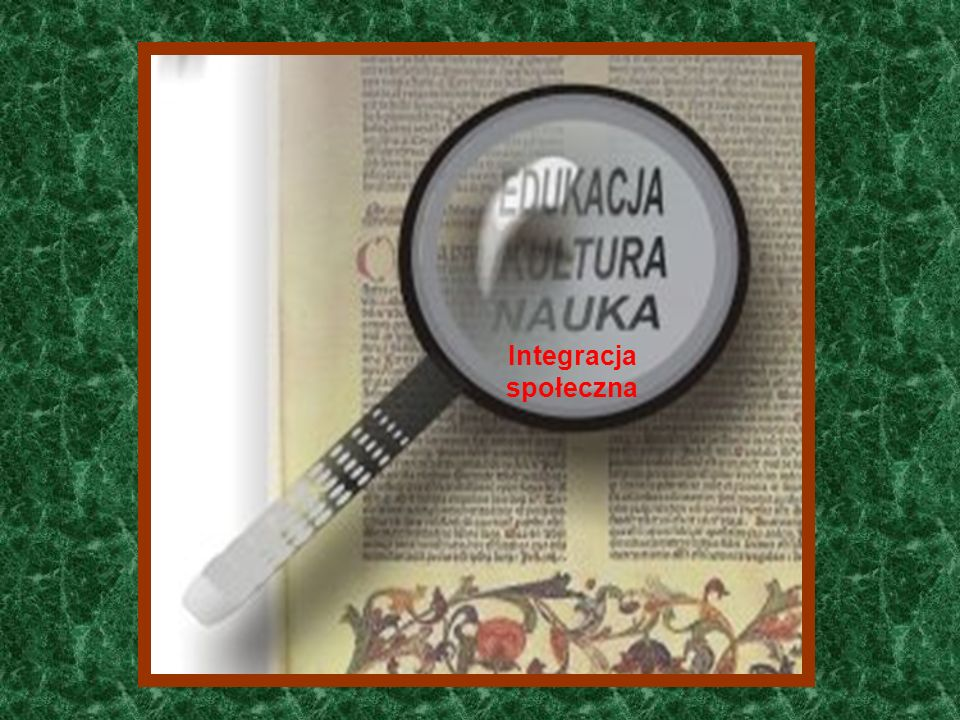 Funkcje zewnętrzne Integracja społeczna