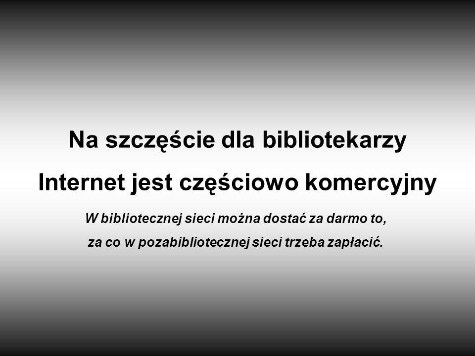 Na szczęście dla bibliotekarzy