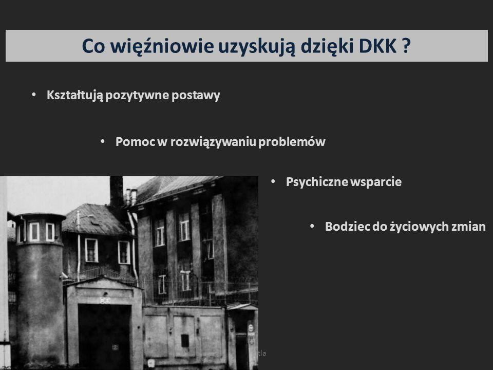 Co więźniowie uzyskują dzięki DKK